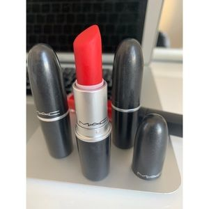 Mac Cosmetics Ruby Woo Red Matte Lipstick